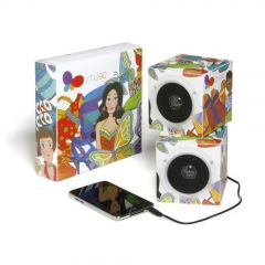 Cube Foldable Speakers