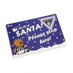 Santa, Door or Street Sign