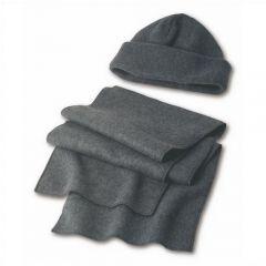 Fleece Cap And Scarf