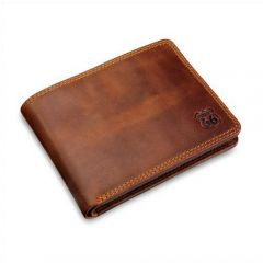 Wallet made from leather