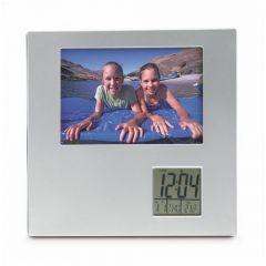 Photo Frame With Digital Clock