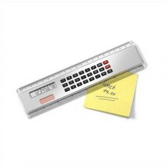 200mm  Ruler With Calculator