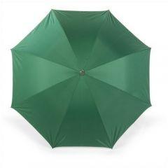 Umbrella with silver underside