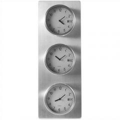 Aluminium Clocks, 24 Cities