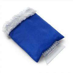 Ice Scraper In Nylon Fleece Glove