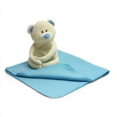 Soft Toy Bear And Fleece Blanket