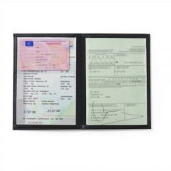 Leather Wallet For Driving Documents