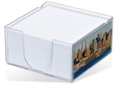 Acrylo Memo Block with Paper Refill - Large