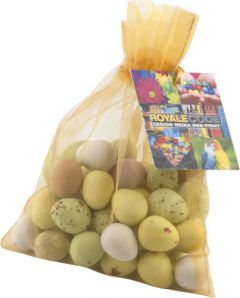 Large Organza Bag with Mini Eggs