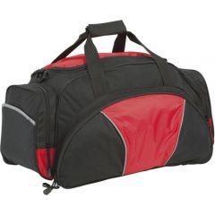 hadlow sports bag black/red