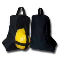 boot bag with strap for hard hat