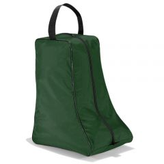 boot bag with air vent mesh green