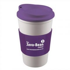 americano mug purple grip