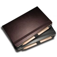 nappa leather notebook