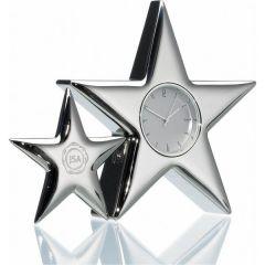 Silver Star Clock