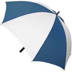 storm umbrella navy blue and white