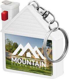House Tape Measure Keyring